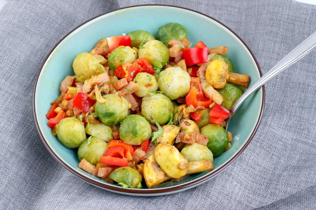 spruitjes uit de wok
