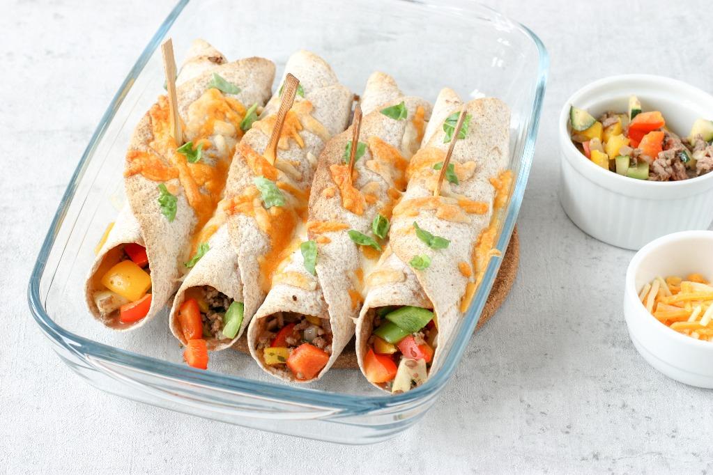 Burrito's met gehakt